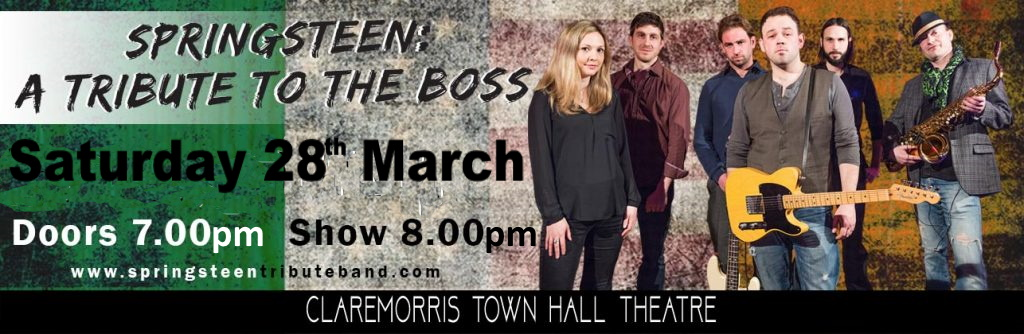 Springsteen: A Tribute To The Boss Sat 28th March 2020