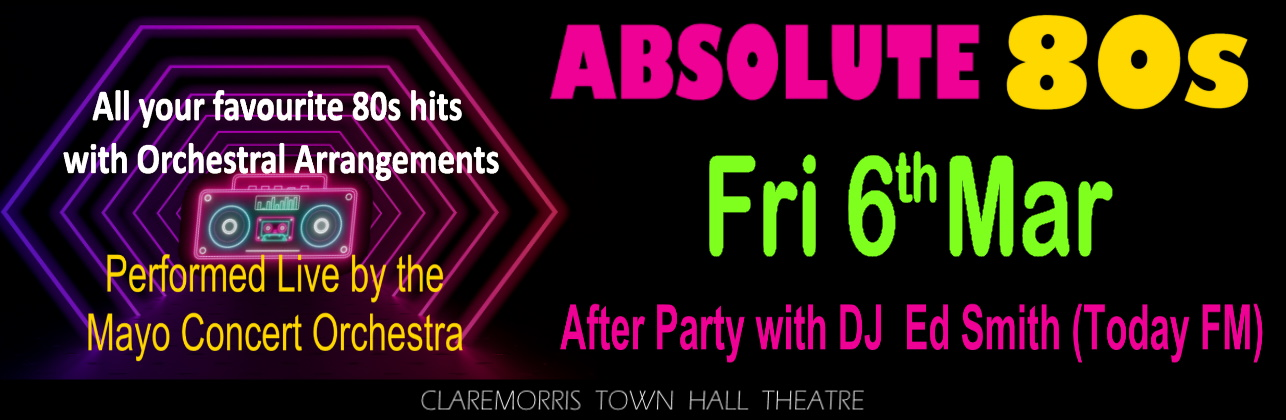 Absolute 80s Friday 06 March 2020