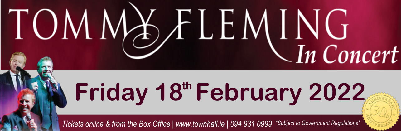 Tommy Flemming 30th Anniversary Concert